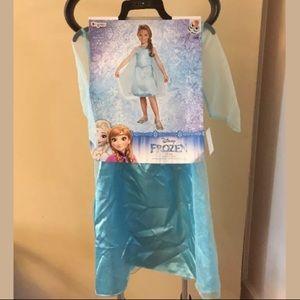 Disney Frozen Elsa Girls Halloween Costume Dress
